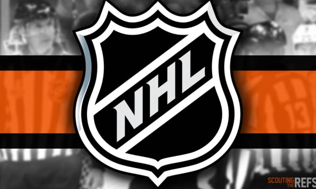 Tonight's NHL Referees and Linesmen – 10/24/18