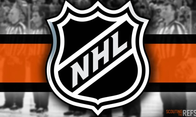 Tonight's NHL Referees and Linesmen – 12/13/2019