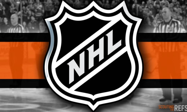 Tonight's NHL Referees and Linesmen – 4/3/19