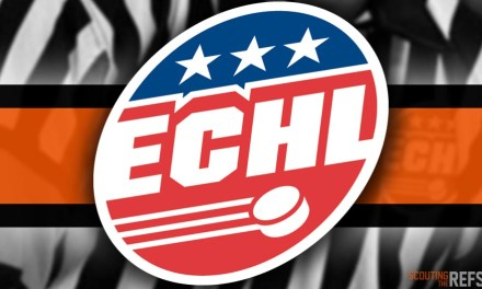 Tonight's ECHL Referees and Linesmen – 12/27/18
