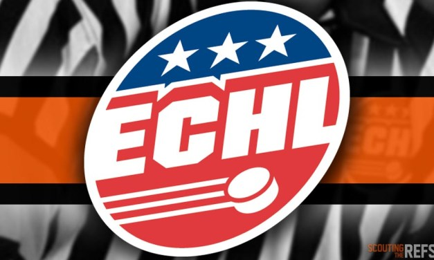 Tonight's ECHL Referees and Linesmen – 11/17/18