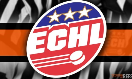 Tonight's ECHL Referees and Linesmen – 10/11/19
