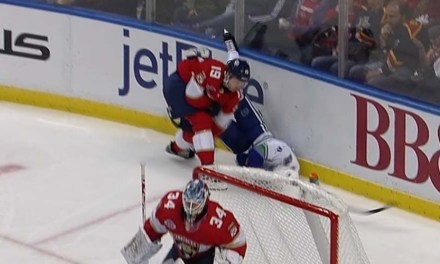 Panthers' Matheson Suspended Two Games for Hit on Canucks' Petterson