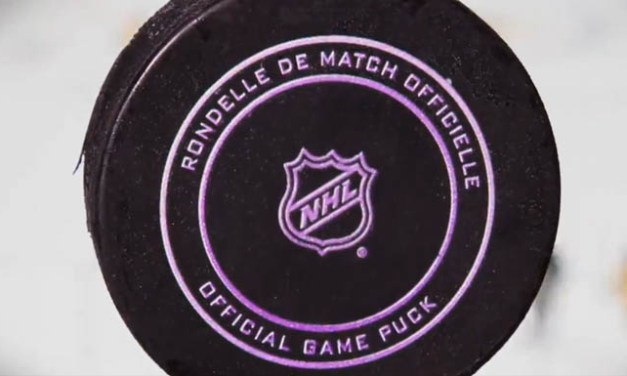 NHL Using Color-Changing Ink to Ensure Frozen Pucks at Winter Classic