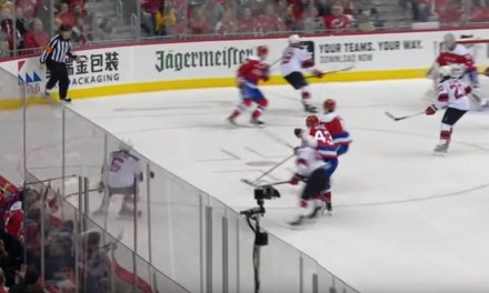 Caps Wilson Ejected for Hit, Avoids Suspension