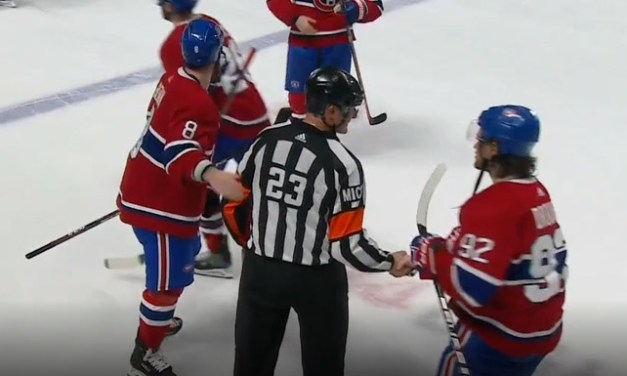 Canadiens Send Off Retiring Referee Brad Watson, Linesman Tim Nowak