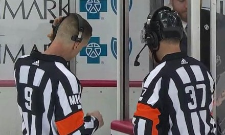 No Goal, Goal, No Goal: Double-Challenge Results in Lost Flyers Goal