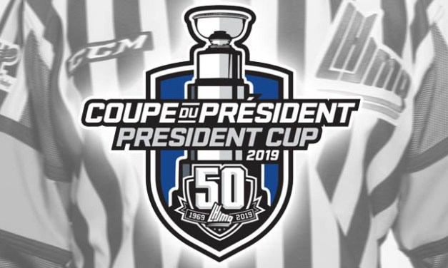 QMJHL Referees and Linesmen for 2019 President Cup Playoffs