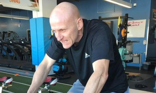 Linesman Vaughan Rody Working Hard on NHL Return