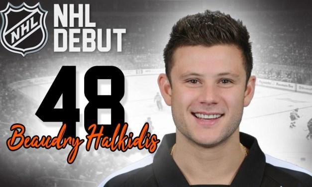 Referee Beau Halkidis to Make NHL Debut in Ottawa