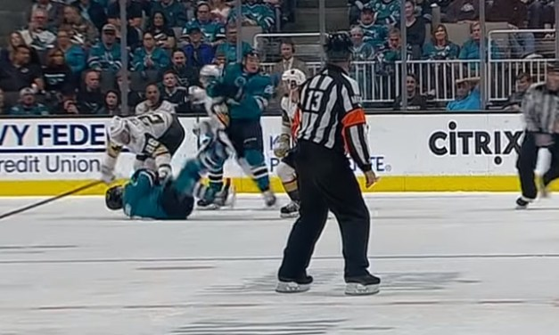 Major Penalty to Golden Knights' Eakin Sparks Sharks Comeback
