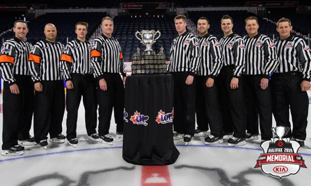 CHL Names 2019 Memorial Cup Referees and Linesmen