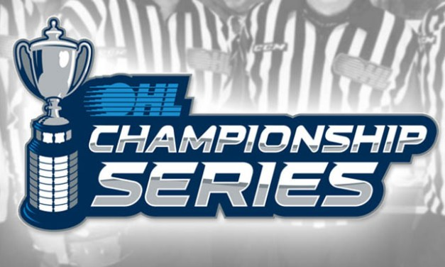 OHL Names Referees and Linesmen for Championship Series
