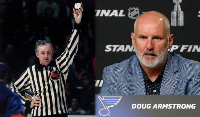 Armstrong Family Spans Blues' Stanley Cup History as Linesman, GM