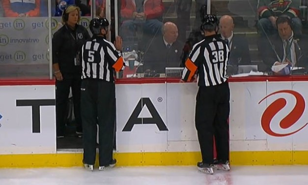 NHL Calls Down After Wrong Player Put in Penalty Box