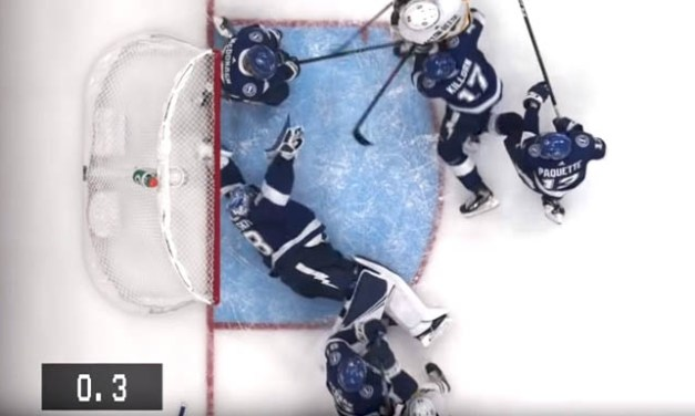 Bolts' Vasilevskiy's Last-Second Save Holds Up After Video Review