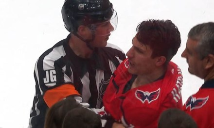 Capitals' Hathaway Suspended Three Games for Spitting