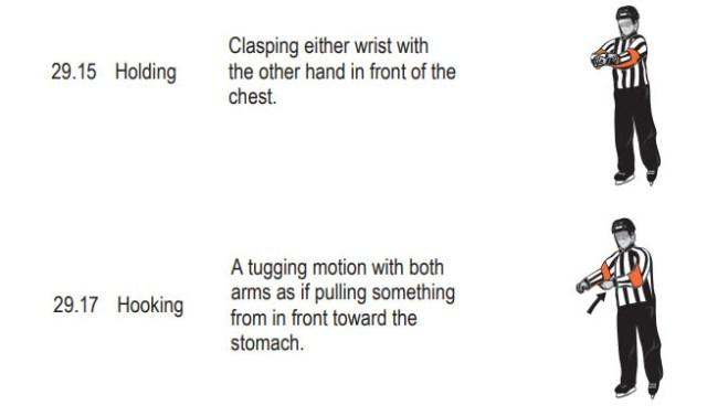 Holding Signal / Hooking Signal