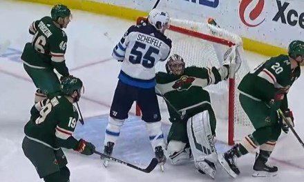 Wild Goaltender Alex Stalock Fined for Diving/Embellishment