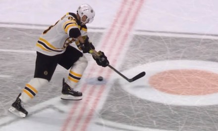Bruins' Lose Shootout After Marchand Whiffs on Puck