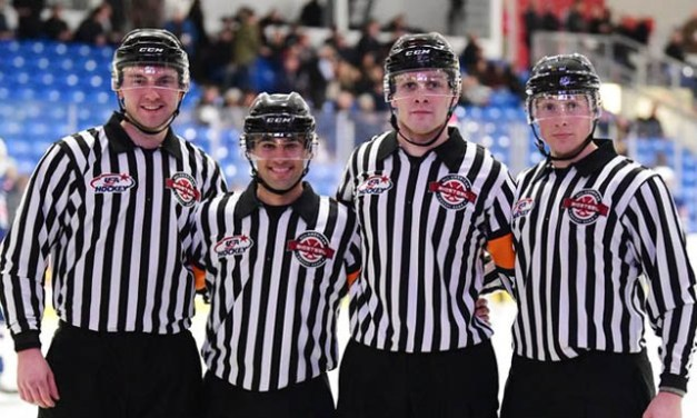 USA Hockey Officials Recognized at BioSteel All-American Game