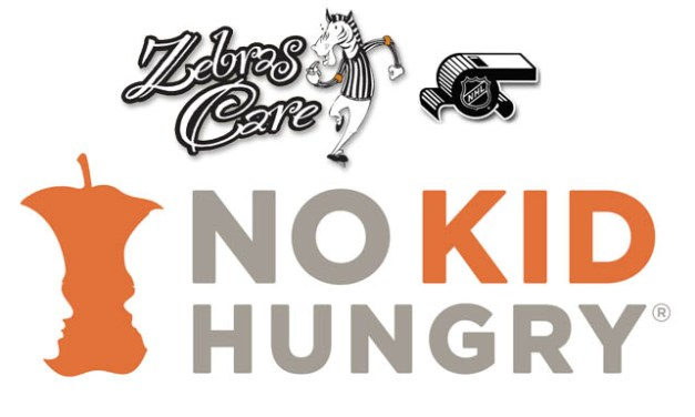 NHL Officials Donate $10,000 to No Kid Hungry