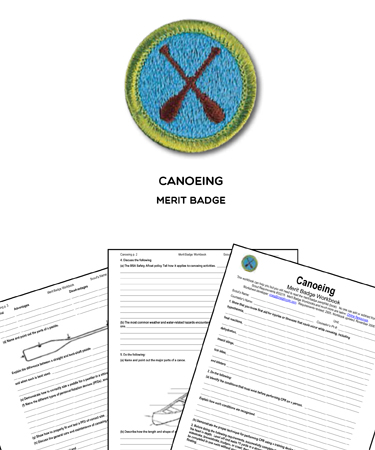 Canoeing Merit Badge Requirements : canoeing, merit, badge, requirements, Canoeing, Merit, Badge, Worksheet, Answers, Project