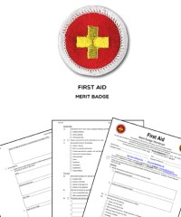 First Aid Merit Badge Worksheet - Kidz Activities