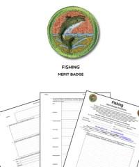 Fishing Merit Badge Worksheet - Kidz Activities