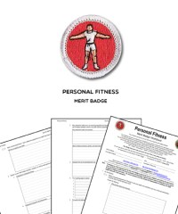 Bsa Personal Fitness Merit Badge Worksheet - Kidz Activities