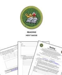 Reading Merit Badge (WORKSHEET & REQUIREMENTS)
