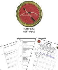 Archery Merit Badge Worksheet - Kidz Activities