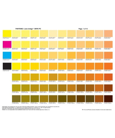 Printable Cmyk Color Chart Pdf | Todayss.org