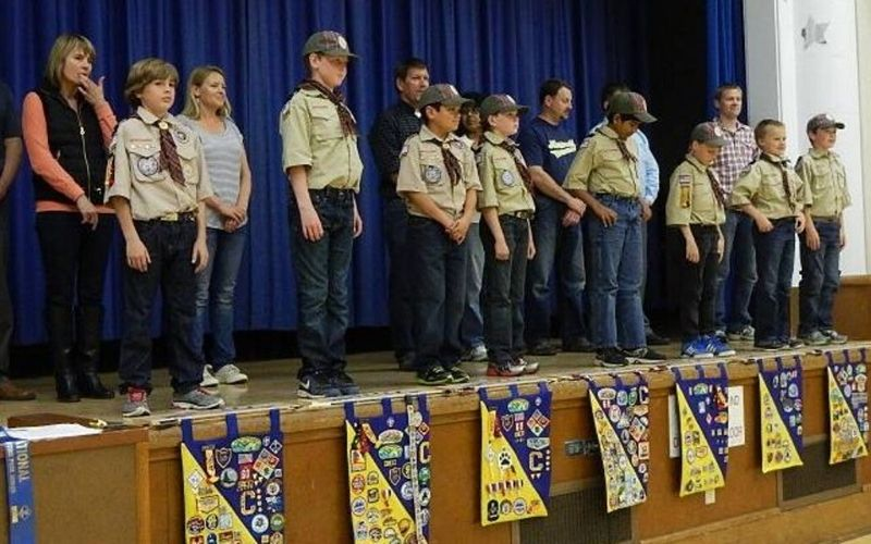 arrow of light ceremony for cub scout