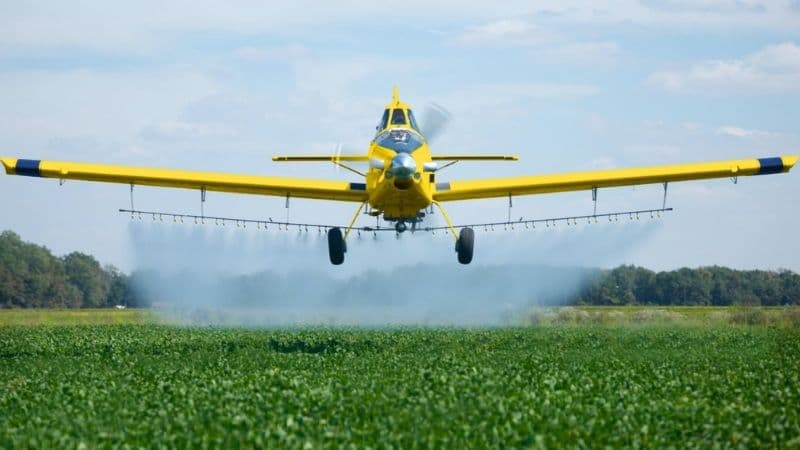aircraft for agriculture