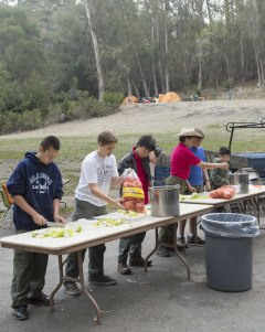 Troop 1015's Turkey Feed