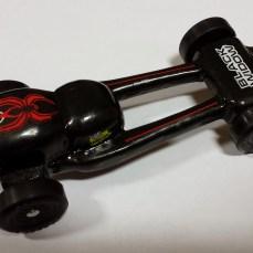 Caleb's Black Widow Car