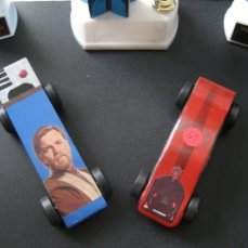 Darth Mauler and the Obi Wan Carnobi