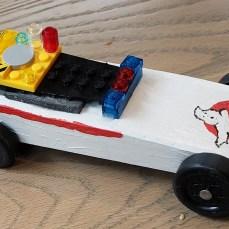 Ghostbusters Derby Car