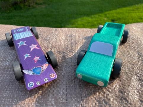 Purple Star-Rider & Green Chill Cruiser