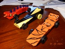 Fire Lizard, The Hornet, Tiger Car