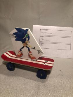 Skateboardin' Sonic