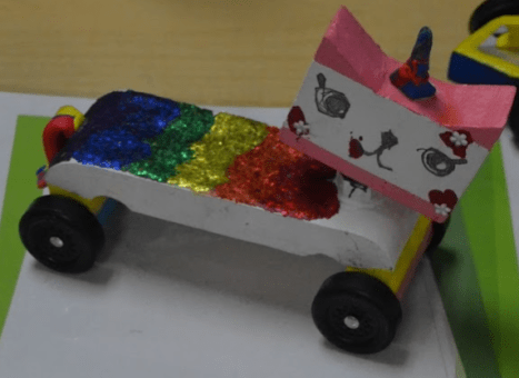 Unikitty car