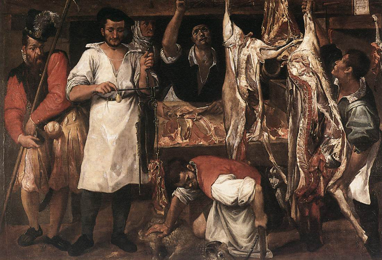 Annibale_Carracci_-_Butcher's_Shop_-_WGA04409