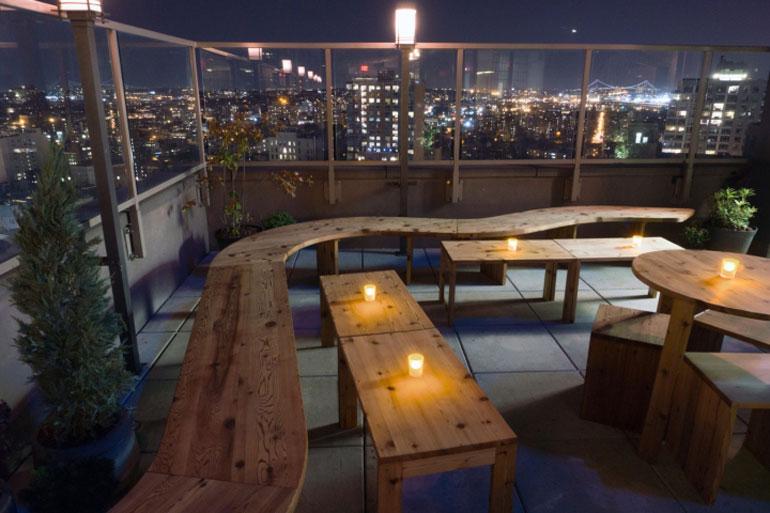 RESTAURANT PORN  This Japanese Rooftop Beer Garden In