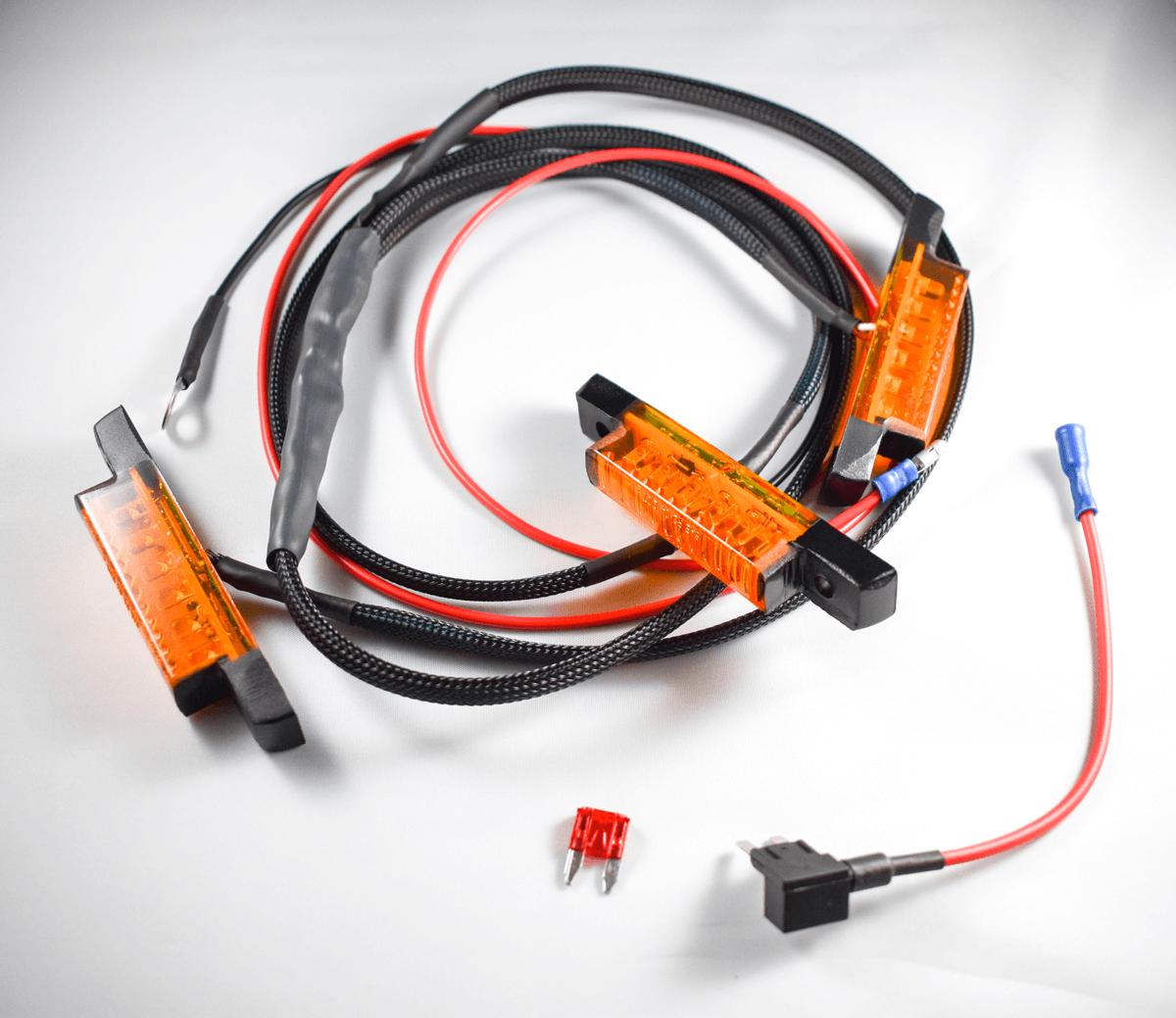 hight resolution of amber leamber led 4runner d wiring harness toyota 4runner grill