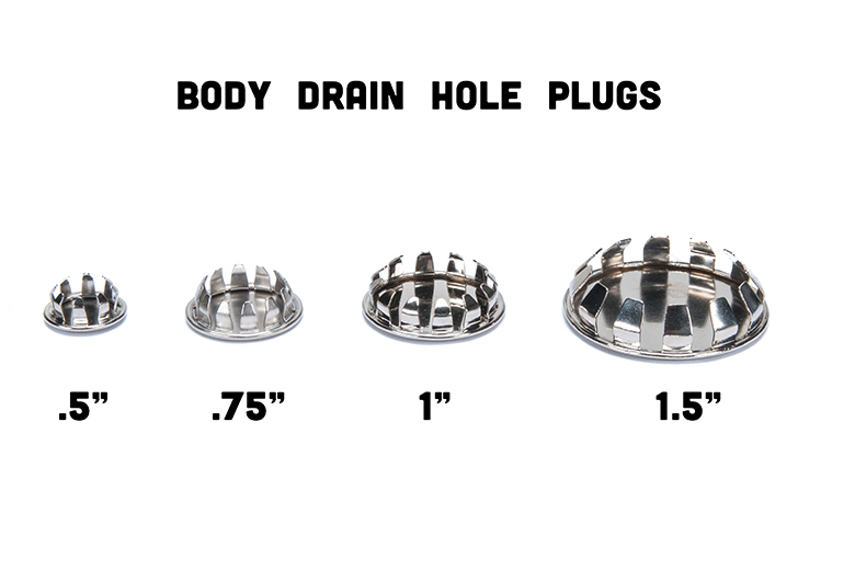 Scout II, Scout 80, Scout 800 Body Drain Hole Plugs