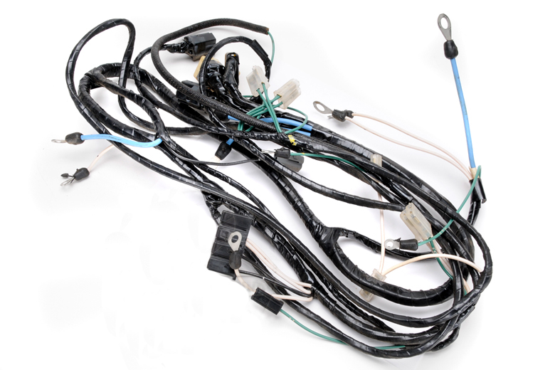 Scout 800 Wiring Harness, Front Engine/head Light, For