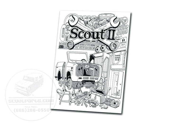 Scout II 11x14 Cardstock Print of 'In the Garage', by