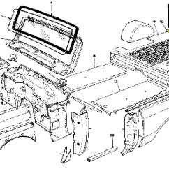 1978 International Scout Ii Wiring Diagram Nissan Sentra Stereo Rear Floor Crossmember (71-80 Scout) - Parts ...